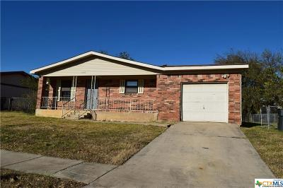 Killeen Single Family Home For Sale: 1505 Anna Lee Drive