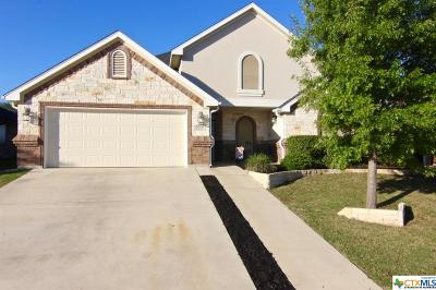 Harker Heights Single Family Home For Sale: 1408 Loblolly