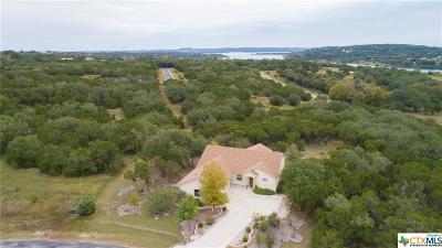 Canyon Lake Single Family Home For Sale: 431 Cielo