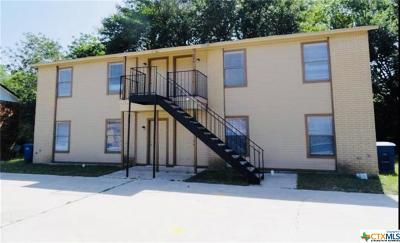 Copperas Cove Multi Family Home For Sale: 204 Erby #A-D
