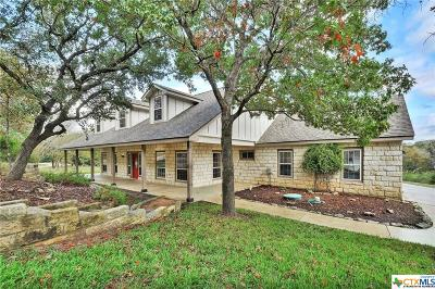 Salado Single Family Home For Sale: 818 Hillcrest Drive