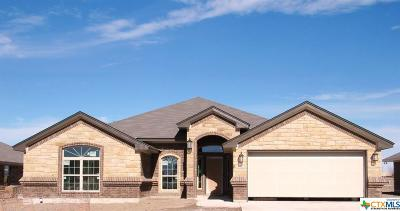 Killeen Single Family Home For Sale: 5907 Verde