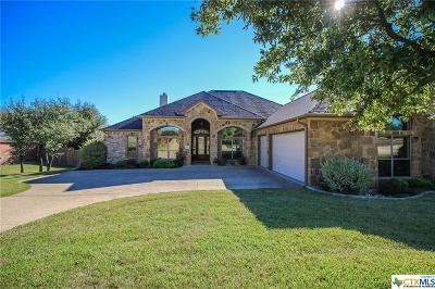 Belton Single Family Home For Sale: 3200 Loving Cove