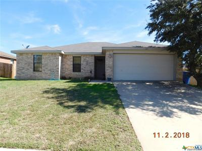 Copperas Cove Single Family Home For Sale: 1123 Travis Circle