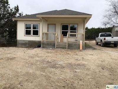 Canyon Lake Single Family Home For Sale: 1308 Mountain View