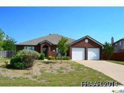 Harker Heights Single Family Home For Sale: 2510 Creek