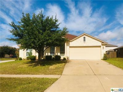 Killeen Single Family Home For Sale: 6101 Charlotte Lane