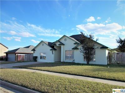 Killeen Single Family Home For Sale: 1924 Michele