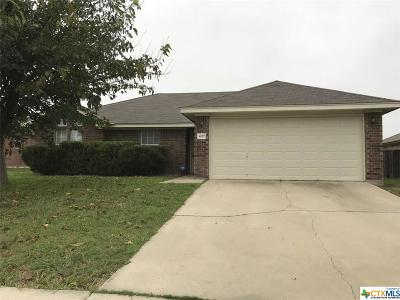 Killeen Single Family Home For Sale: 4207 Embers