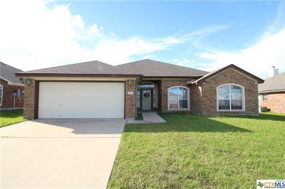 Killeen Single Family Home For Sale: 2507 Bachelor Button Boulevard