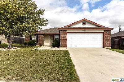Killeen Single Family Home For Sale: 3613 Fieldcrest Drive