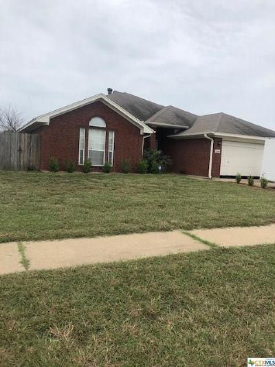 Killeen Single Family Home For Sale: 2302 Lava Lane