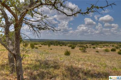 Lampasas Residential Lots & Land For Sale: Tract 7 Unnamed Road