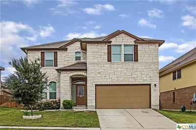Killeen Single Family Home For Sale: 3201 Cricklewood