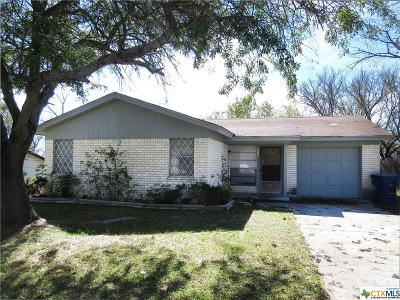 Copperas Cove Single Family Home For Sale: 509 Traci