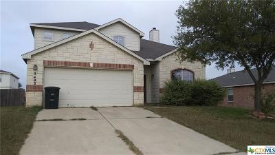 Killeen Single Family Home For Sale: 3403 Bull Run