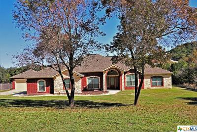 Copperas Cove, Kempner Single Family Home For Sale: 2610 Freedom Lane