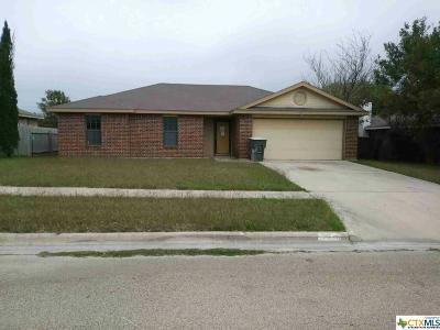 Killeen Single Family Home For Sale: 4709 Ronald