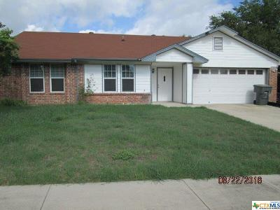 Killeen Single Family Home For Sale: 3305 Tallwood