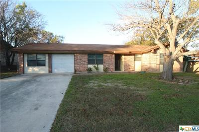Copperas Cove Single Family Home For Sale: 1203 Hughes