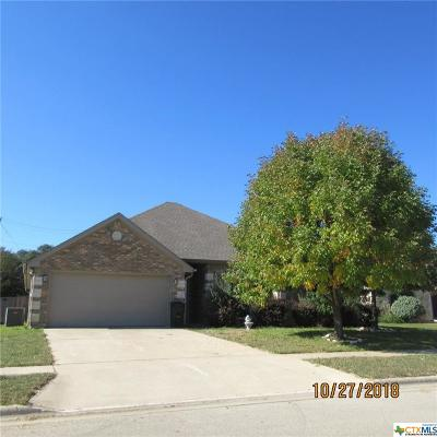 Harker Heights Single Family Home For Sale: 1436 Loblolly Drive