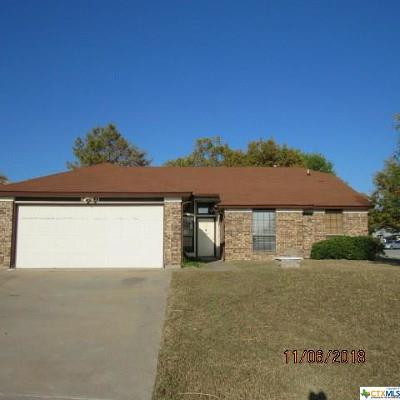 Copperas Cove Single Family Home For Sale: 109 Letzke Circle