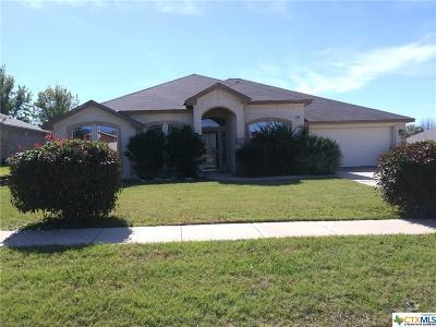 Killeen TX Single Family Home For Sale: $169,900