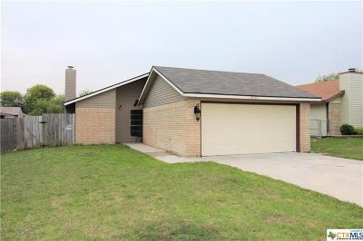 Killeen Single Family Home For Sale: 2204 Carousel