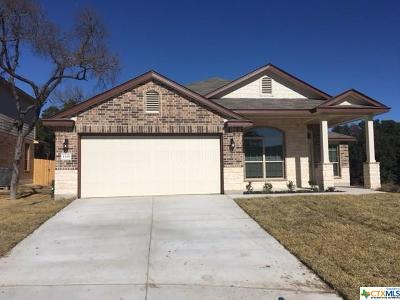 Harker Heights Single Family Home For Sale: 1315 Stonewall Ridge
