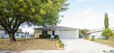Killeen Single Family Home For Sale: 2601 Traverse