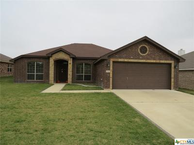 Killeen Single Family Home For Sale: 3509 Tatonka Drive