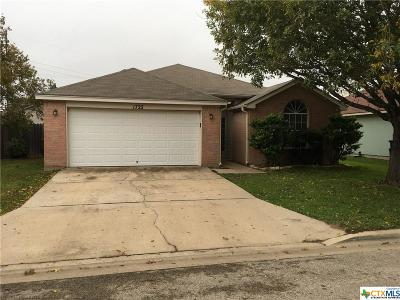 Belton, Temple Single Family Home For Sale: 1722 Bent Oak