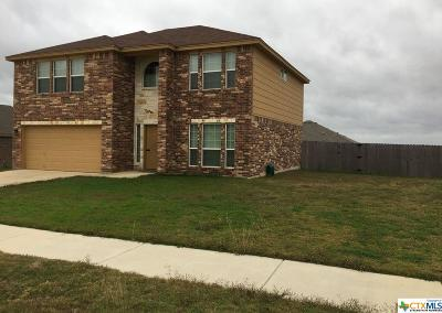 Killeen Single Family Home For Sale: 2610 Coal Oil Drive