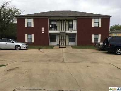 Killeen Multi Family Home For Sale: 203 W Mary Jane