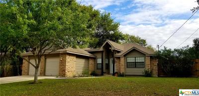 New Braunfels Single Family Home For Sale: 1667 Camellia Lane