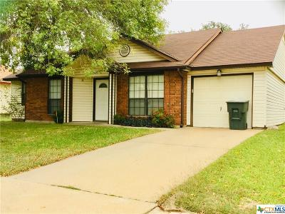 Killeen Single Family Home For Sale: 2405 Fieldstone Drive