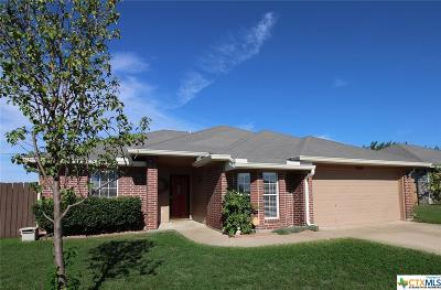 Killeen Single Family Home For Sale: 3501 Warfield Drive