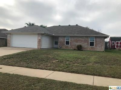 Killeen Single Family Home For Sale: 2104 Moonstone