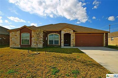 Copperas Cove Single Family Home For Sale: 2305 Mike Drive