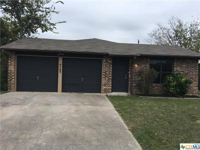 Killeen Single Family Home For Sale: 4703 Jana