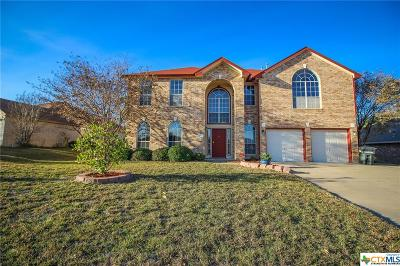 Harker Heights Single Family Home For Sale: 2502 Creek Drive