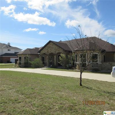 Harker Heights Single Family Home For Sale: 3912 Walden Creek Crossing
