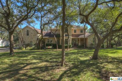 New Braunfels TX Single Family Home For Sale: $624,900