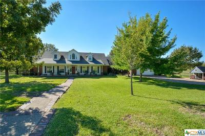 Temple, Belton, Salado, Troy Single Family Home For Sale: 2430 Cottonwood Creek Road