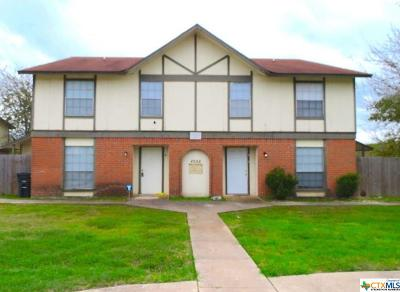 Killeen Multi Family Home For Sale: 4504 Hunt Circle