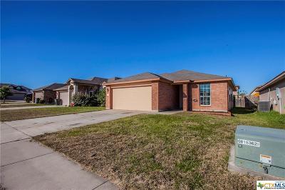 Killeen TX Single Family Home For Sale: $125,000