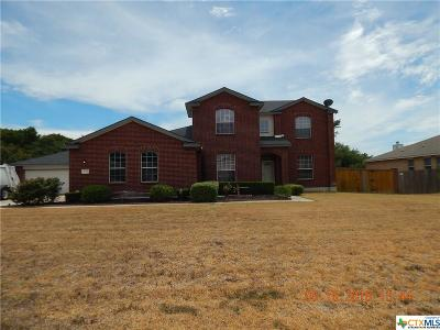 Killeen Single Family Home For Sale: 834 Rolling Hills