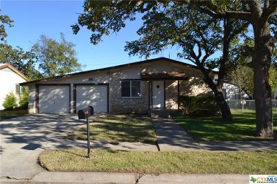 Copperas Cove TX Single Family Home For Sale: $79,000