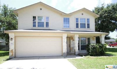 Killeen Single Family Home For Sale: 4900 Selenite Court