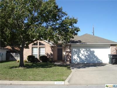 Temple, Belton Single Family Home For Sale: 5008 J I Bruce